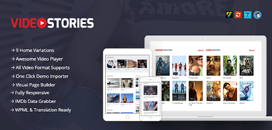 VideoStories – Best Video WordPress Theme for Internet Marketers