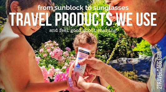 Go-to kid products for traveling: gentle sunblock to UV sunglasses...