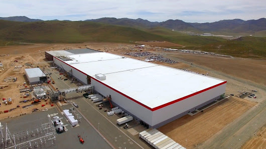 Tesla Gigafactory Nevada {News, Size & Progress} New Hi Tech Gadgets