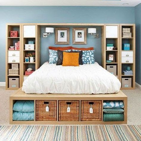 20 Unique Bedroom Storage Ideas for Your Unique Personality