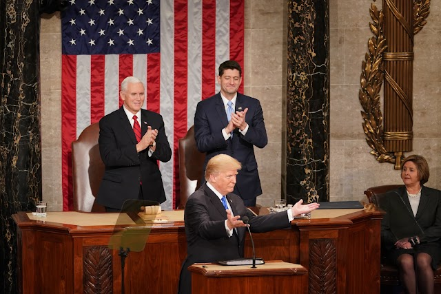 Trump's First State of the Union Address: A Call for Unity That Wasn't Always Heard That Way