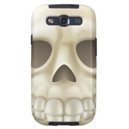 Cartoon Halloween Skull Galaxy S3 Cases