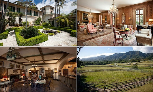 California super-mansion with 10 separate cottages listed for $125M