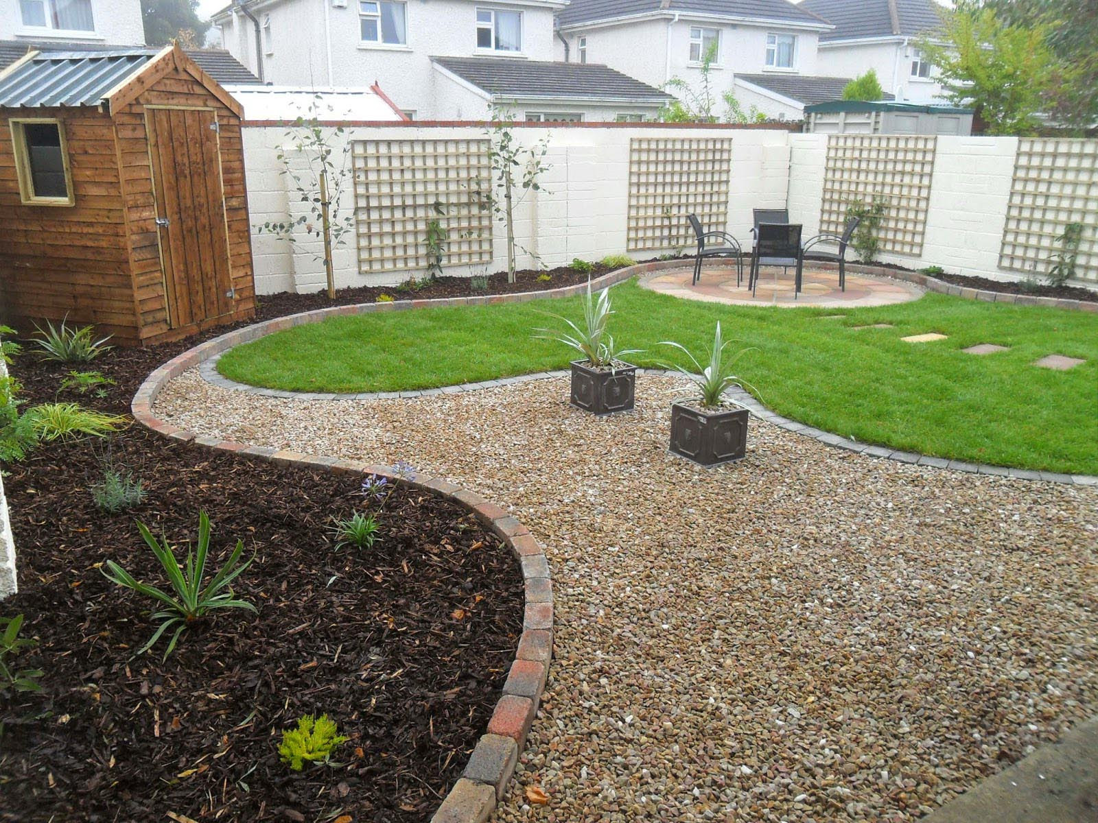 Low Maintenance Gravel Garden Designs  Garden Design Ideas