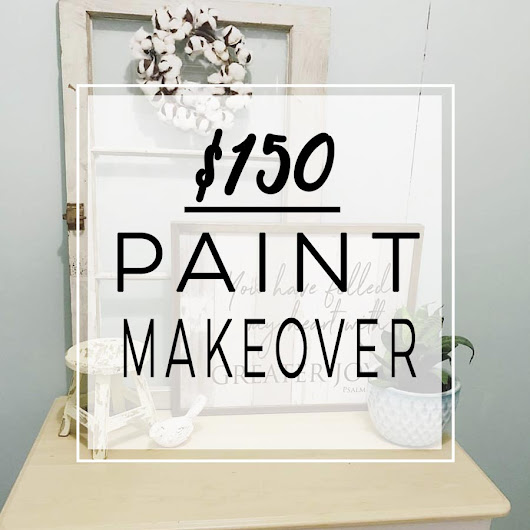 The $150 Paint Makeover - The House of Plaidfuzz