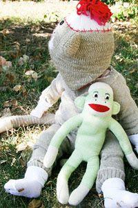 Repurposed Sock Monkey