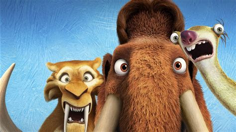 diego manny scrat ice age collision  wallpapers hd