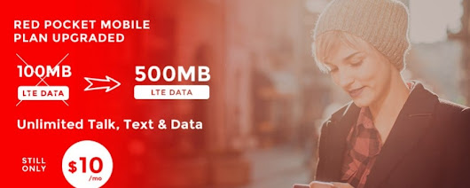 Red Pocket's $10 Essentials Plan Includes 500 Minutes, Texts And MB Of Data Good On Any Wireless Network - BestMVNO