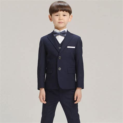 Boys suits for weddings Kids Prom Suits Black Wedding