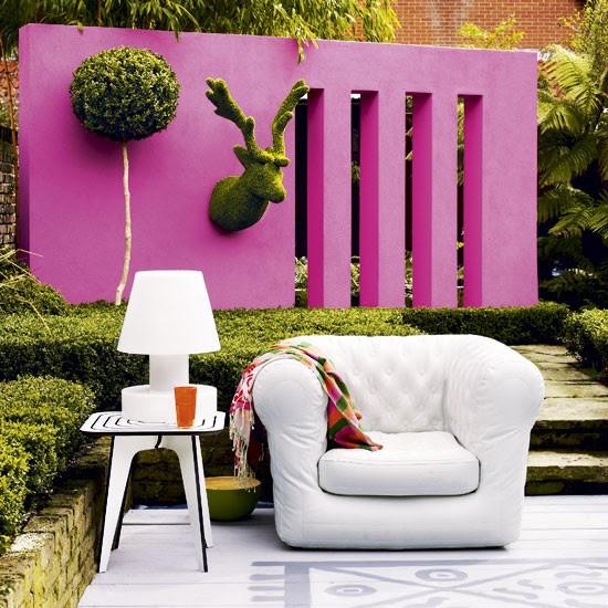 Colourful Wall Garden