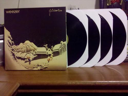 Weezer - Pinkerton 4xLP - Deluxe Edition
