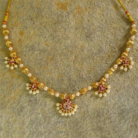 Moti Haar   gold   Pinterest   Traditional, Crafts and Pearls