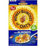 Honey Bunches Cereal, with Crispy Almonds - 48 oz
