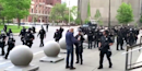 Buffalo mayor says elderly protester pushed to ground by police was an 'agitator'