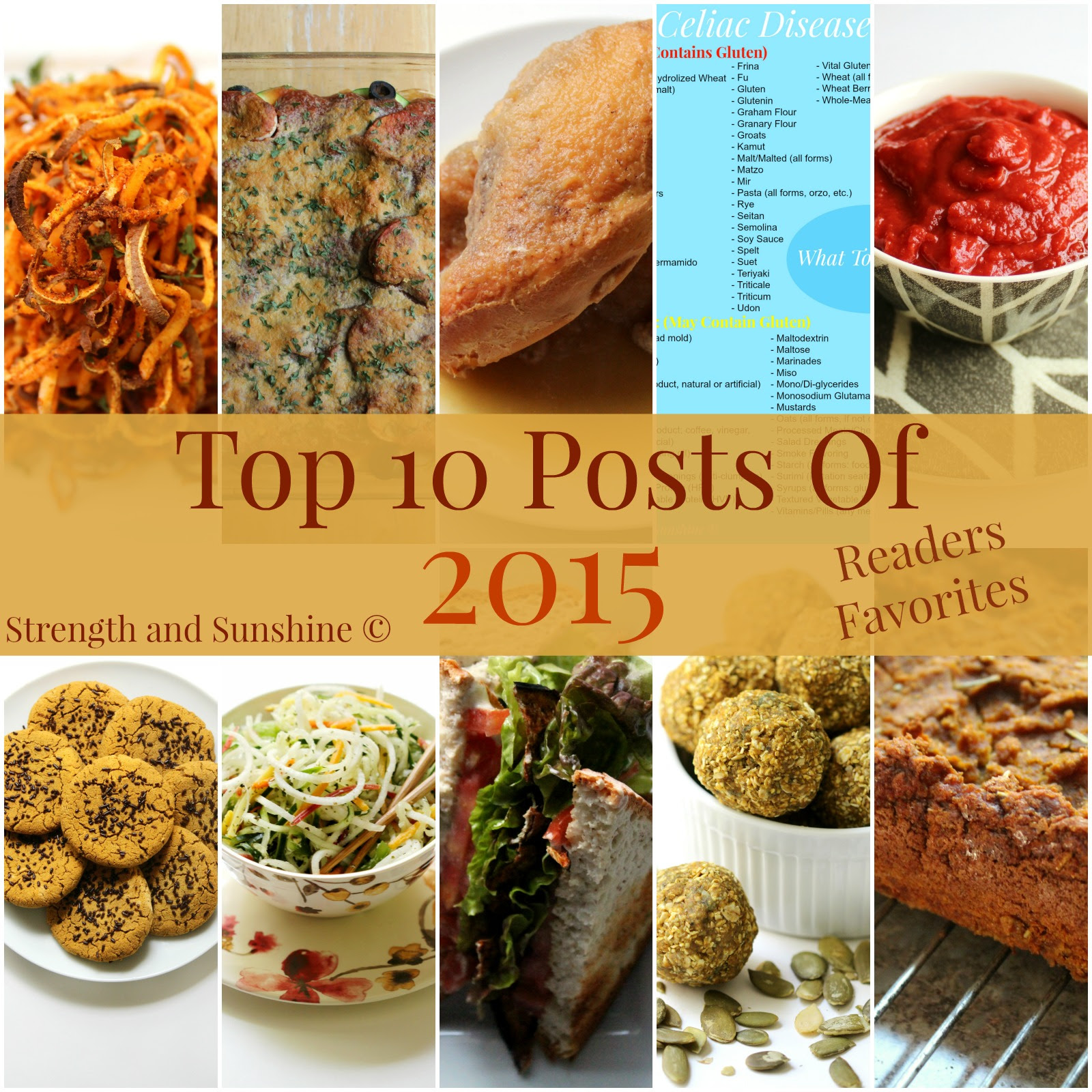 Top 10 Posts of 2015 by Strength and Sunshine
