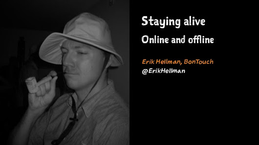 Statying Alive - Online and OFfline