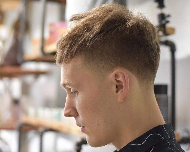 Geheimratsecken haarschnitt männer mit Die Besten