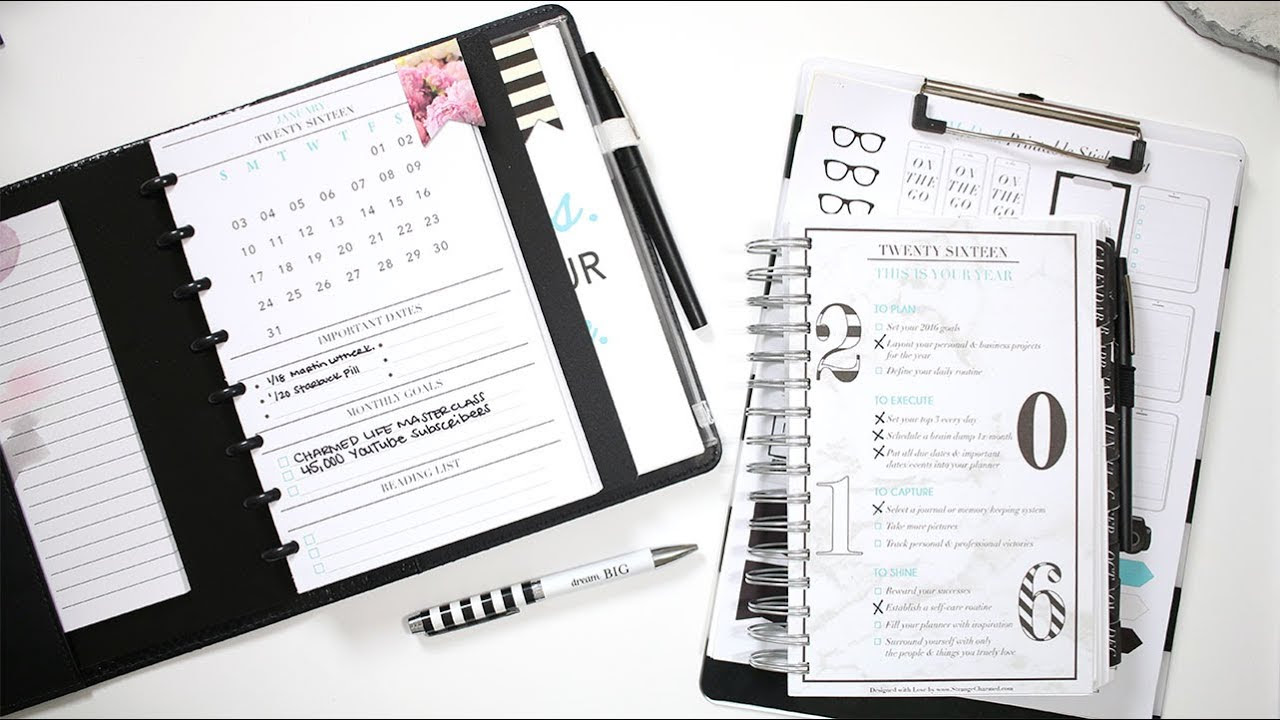 2016 This is Your Year | New Free Printables + Planner Updates ...