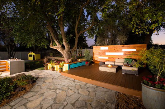 Eight Backyard Makeovers from DIY's Yard Crashers - Decoration for House