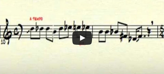 What does laughter look like written out as sheet music?
