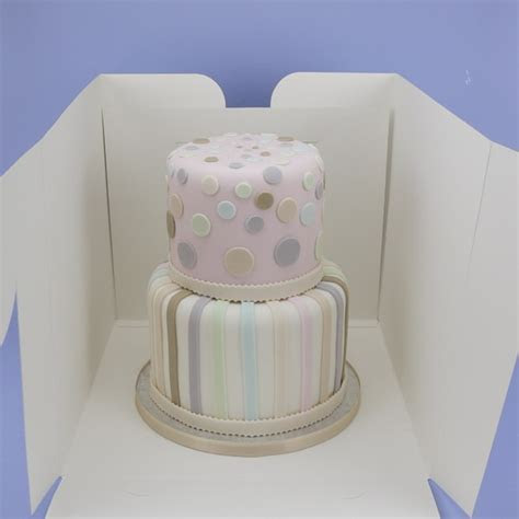 Tall Cake Box For Stacked Cake