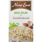 Near East Rice Pilaf Mix - Toasted Almond - 6.6 Ounce - PACK OF 24