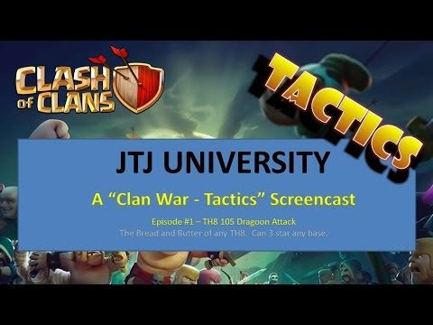 Team Splash: Good TH7 / TH8 dragon attack overview from our
