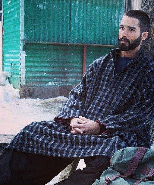 Shahid Kapoor as Haider  First Look
