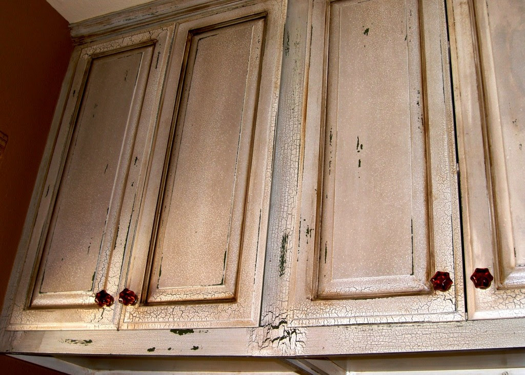 cabinets on Pinterest | Kitchen Cabinets, Crackle Painting ...
