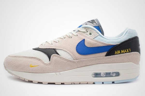 6fb5a002edd9 Nike Adds New Logo Elements To The Air Max 1