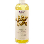 Castor Oil by Now foods - 16 Fluid Ounces
