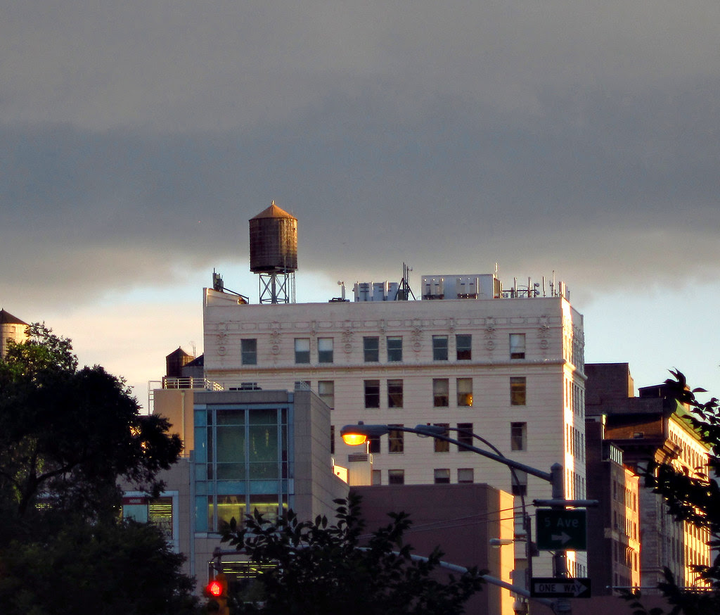 Late afternoon on Broadway