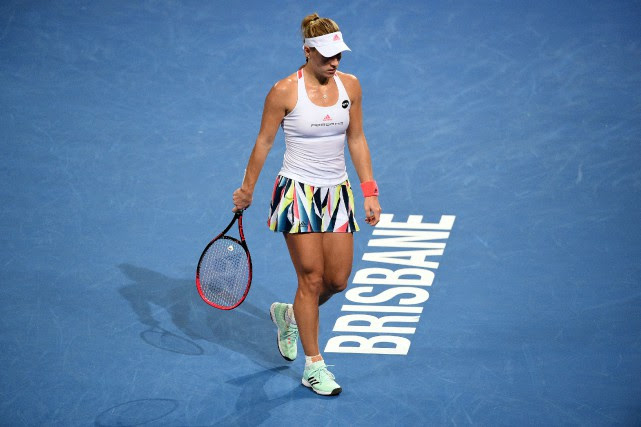 Angelique Kerber... (Photo Saeed Khan, Agence France-Presse)