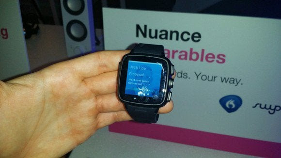 nuance smartwatch email