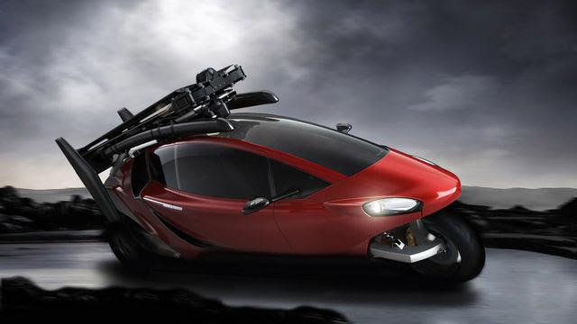 Presentan en el Salón del Automóvil de Ginebra, el primer auto volador (Video)