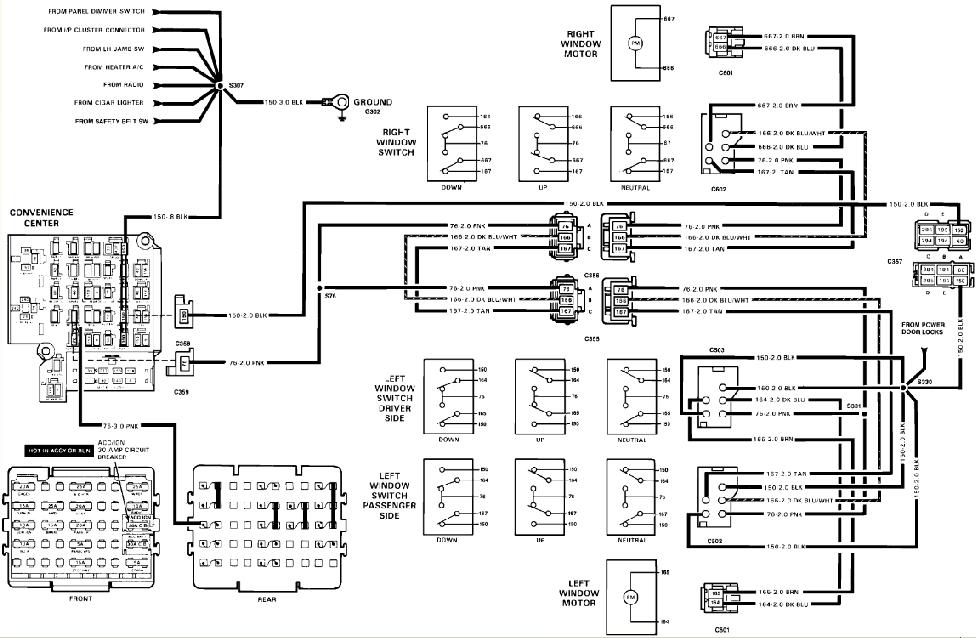 33 1989 Chevy C1500 Wiring Diagram - Worksheet Cloud