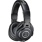 Audio-Technica ATH-M40x Professional Monitor Headphones-XBlack