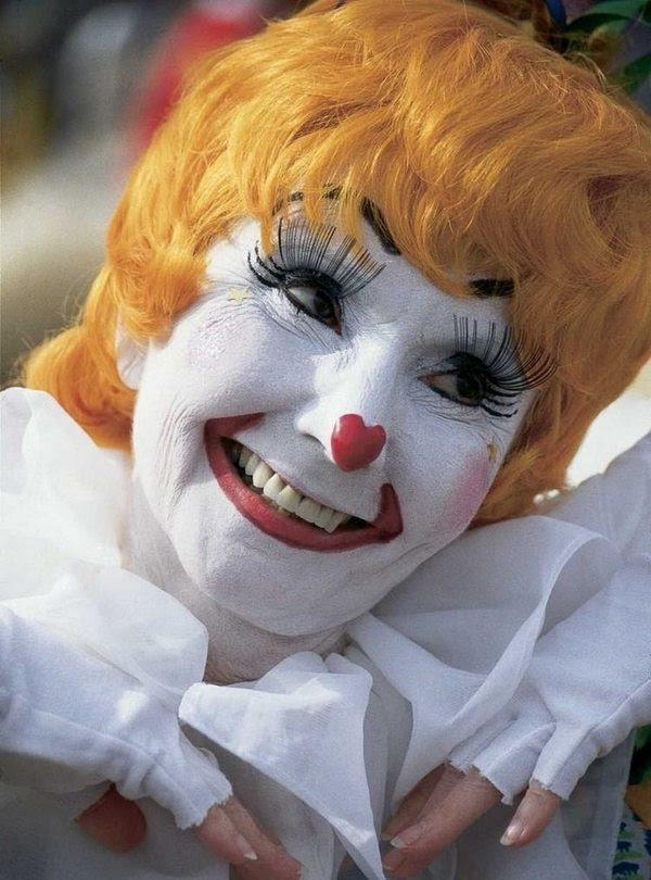Cute clown makeup ideas