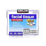 Kirkland Signature 2-Ply Facial Tissue - 30 pack, 110 count each