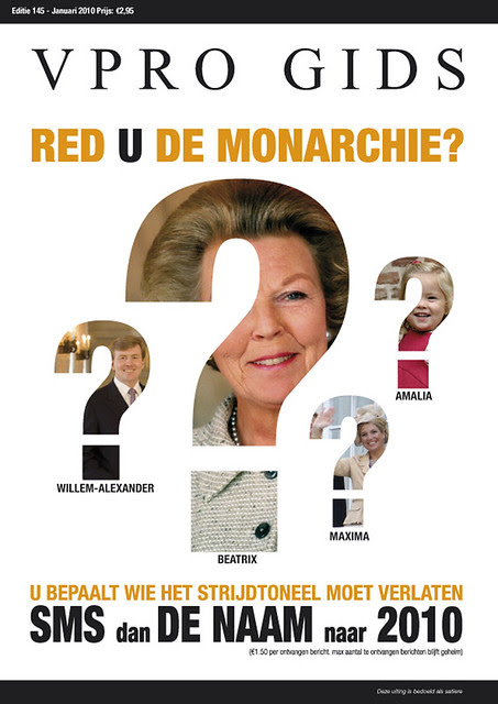 design opmaak 1, VPRO Gids Cover 1, 2010