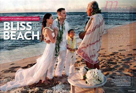 Elegant Megan Fox Wedding Dress   AxiMedia.com