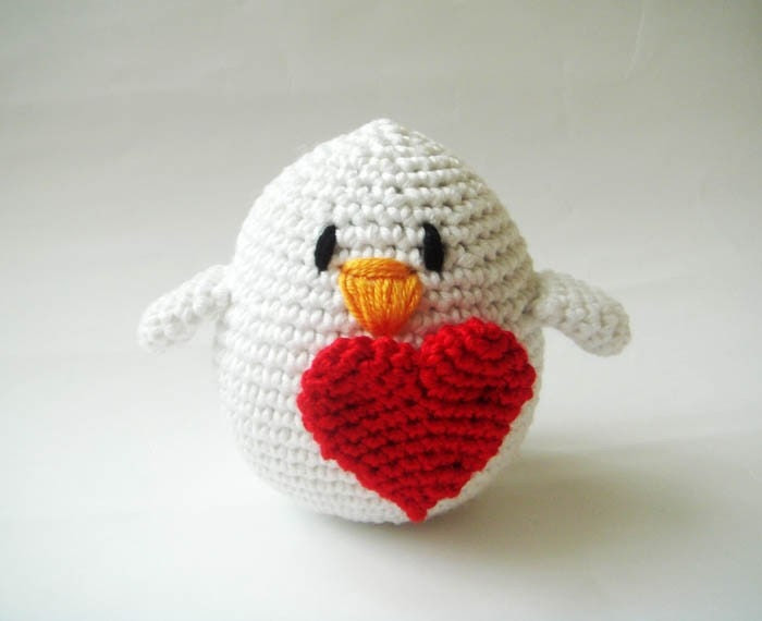 The Unique Valentine's day Bird