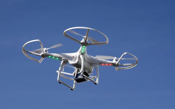 Στη Ζάκυνθο το drone της Πυροσβεστικής