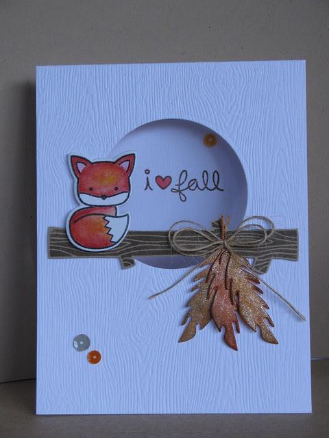 i love fall foxy