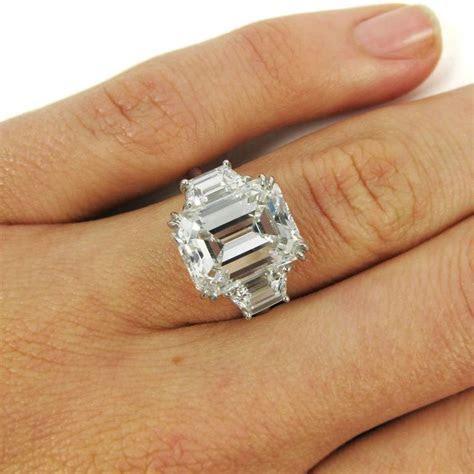 Harry Winston 5.65 Carat GIA Certified Emerald Cut Diamond