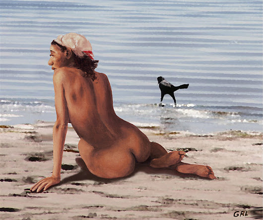 TRADITIONAL MODERN FEMALE NUDES - RECENT ORIGINAL PAINTINGS