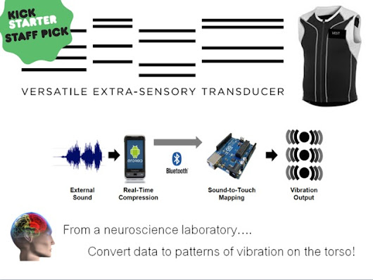 VEST: A Sensory Substitution Neuroscience Project