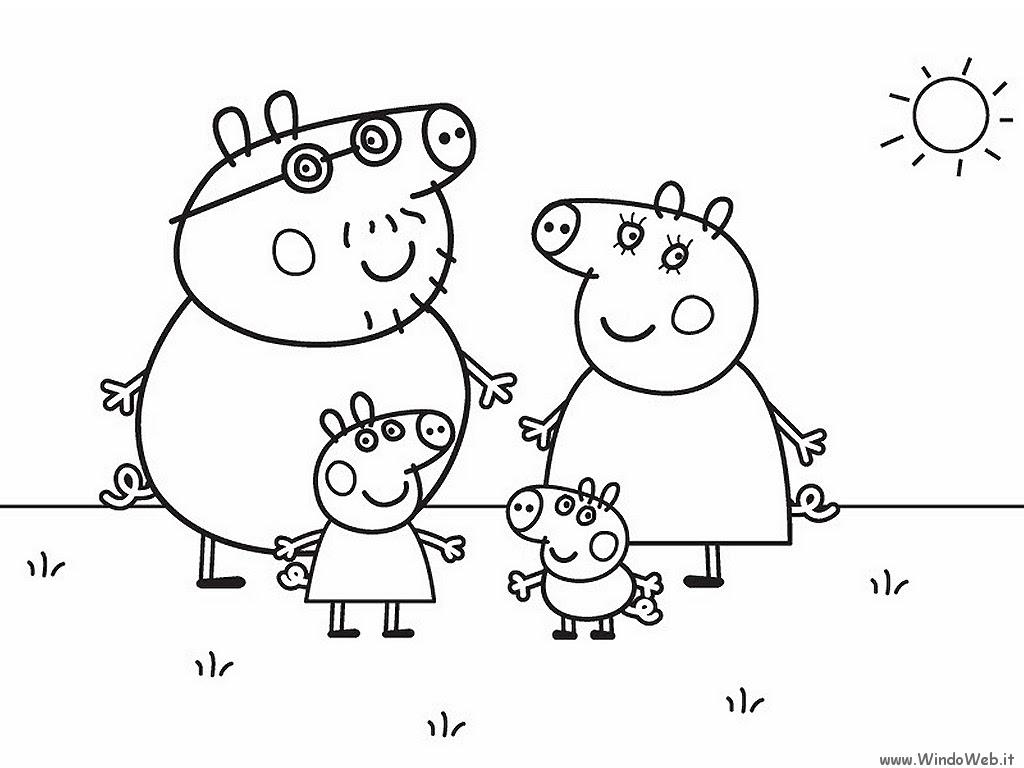 Coloriage peppa pig gratuit dessin a imprimer 274
