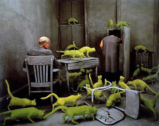 Sandy Skoglund - Radioactive Cats
