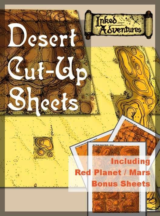 Desert Cut-Up Sheets